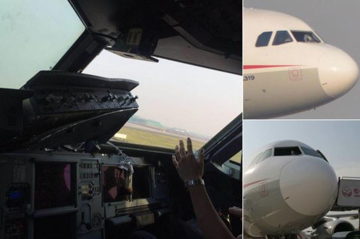 Φρίκη στον αέρα για επιβάτες αεροπλάνου – Έσπασε το τζάμι και… ρούφηξε τον πιλότο! [pics, vid] | Newsit.gr
