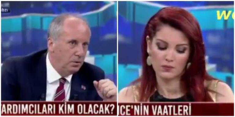 Επεισοδιακή συνέντευξη Ιντζέ! Τάπωσε την δημοσιογράφο και αποθεώθηκε -«Είστε πολύ κοντά στον κύριο Ερντογάν»