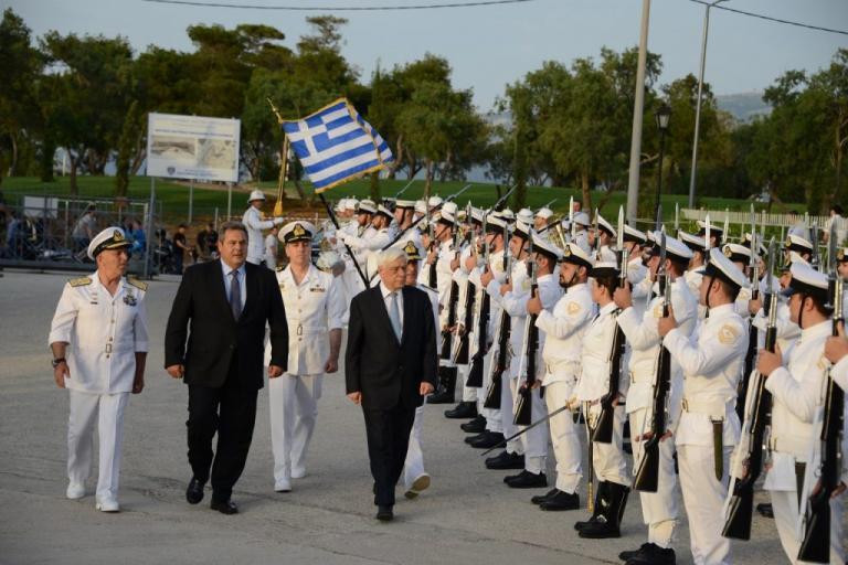 Βροντερά μηνύματα Καμμένου: Οι ΕΔ έτοιμες να προασπίσουν εθνική κυριαρχία και εδαφική ακεραιότητα | Newsit.gr
