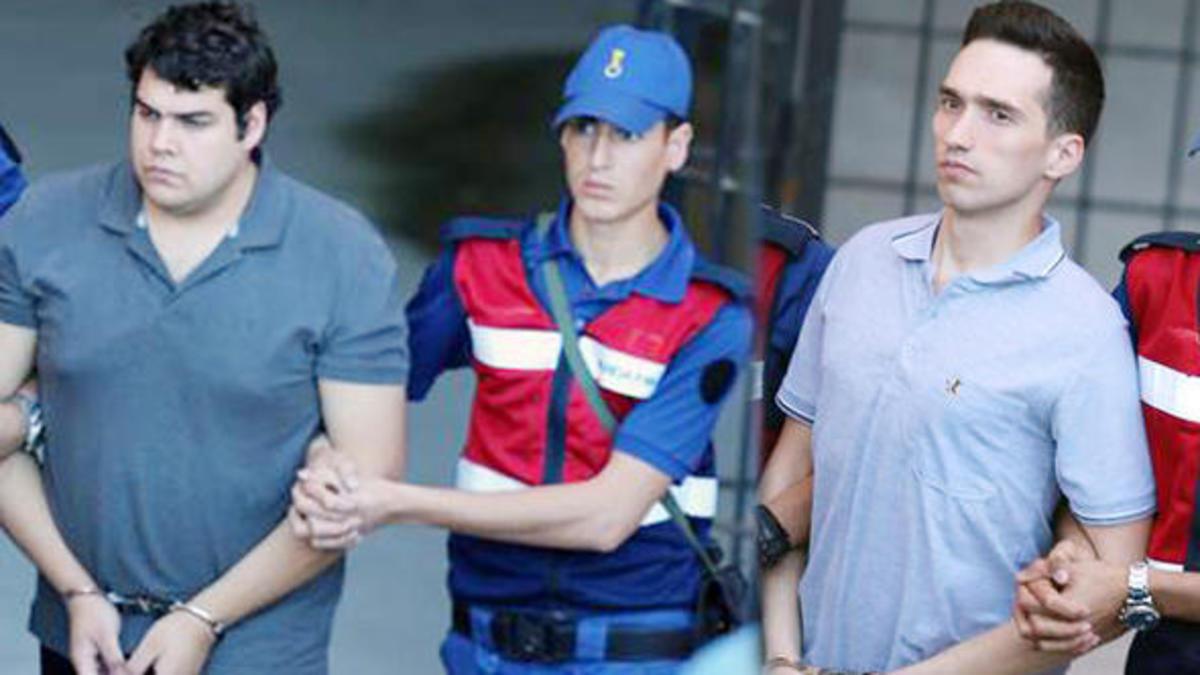 Οι Τούρκοι απέρριψαν ξανά αίτημα αποφυλάκισης των δύο Ελλήνων στρατιωτικών – Νέες εικόνες τους