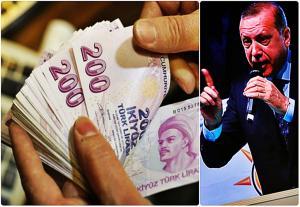 «Ναυαγεί» η τουρκική λίρα – «Κρύος ιδρώτας» για τον Ερντογάν!