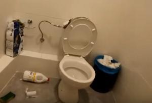 Αγρίνιο: Η τουαλέτα στο πρακτορείο του ΟΠΑΠ έκρυβε αυτές τις εικόνες – Μπήκαν και έπαθαν σοκ με το φίδι [pic, vid]