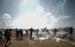 Γάζα: Κλειστό το Κερέμ Σαλόμ μετά από σφοδρές συγκρούσεις κατά τη διάρκεια διαδηλώσεων