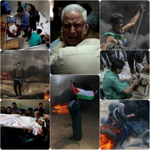 Ποτίστηκε με αίμα η Λωρίδα της Γάζας! Σκότωναν παιδιά πίνοντας… σαμπάνιες! 52 νεκροί, χιλιάδες τραυματίες