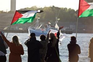 """Ξεκίνησε ο """"στόλος"""" που θα σπάσει τον αποκλεισμό της Γάζας"""
