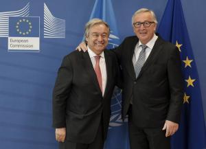 Γιούνκερ: Η Ε.Ε θα διατηρήσει την συμφωνία με το Ιράν