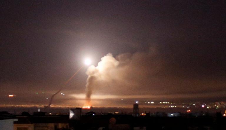 Συρία: Για 3 νεκρούς από τους Ισραηλινούς πυραύλους κάνει λόγο ο στρατός