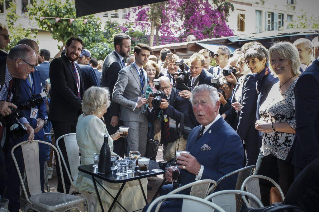 πρίγκιπας Κάρολος Καμίλα Αθήνα