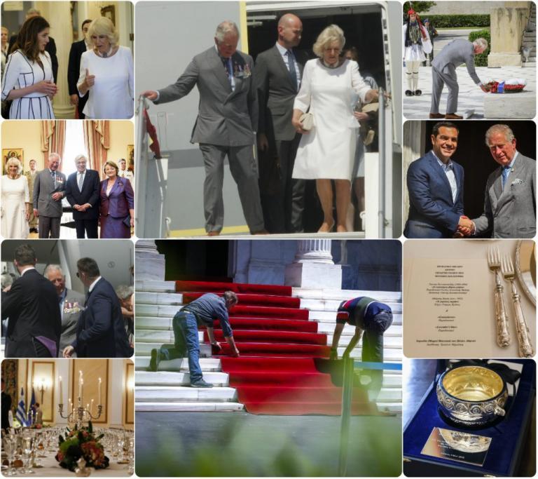 Επίσκεψη Καρόλου στην Ελλάδα: Ήλιος, συγκίνηση, χιούμορ και… Γκουαρδιόλα!