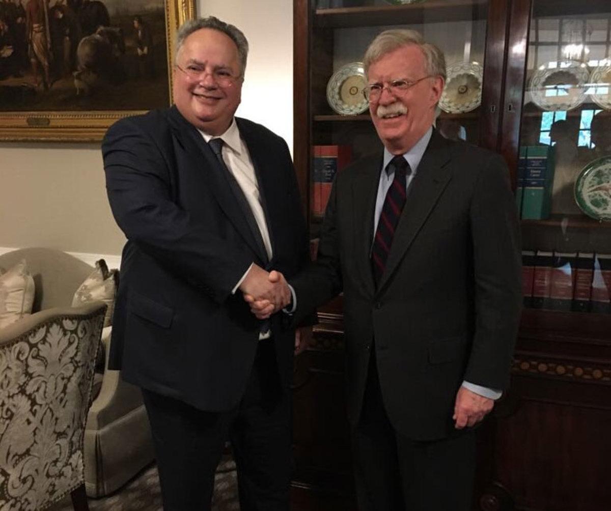 Κοτζιάς – Μπόλτον: Συζήτησαν για Τουρκία, Σκοπιανό, ενεργειακά και επενδύσεις | Newsit.gr