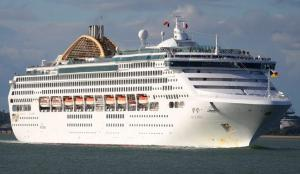 Κρήτη: Στην Σούδα το τεράστιο κρουαζιερόπλοιο «Oceana» – Δέος από το «πλωτό παλάτι» [pics]