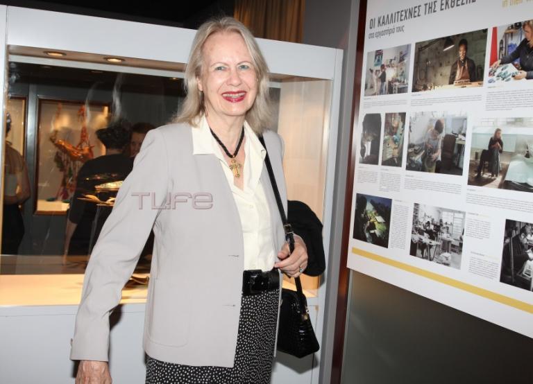 Λίζα Έβερτ: Σπάνια δημόσια εμφάνιση για τη χήρα του Μιλτιάδη Έβερτ | Newsit.gr