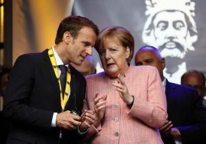 Μακρόν σε Μέρκελ: Αφήστε το γερμανικό «φετιχισμό» με τα δημοσιονομικά πλεονάσματα