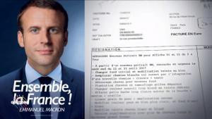 Ο Μακρόν πλήρωσε 5.500 ευρώ για ένα… «photoshop» στην προεκλογική του αφίσα! [vid]