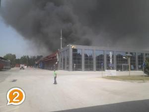 Ξάνθη: Μεγάλη φωτιά στο εργοστάσιο γνωστής εταιρείας με μπαταρίες – Εκκενώνονται οικισμοί! [vid]