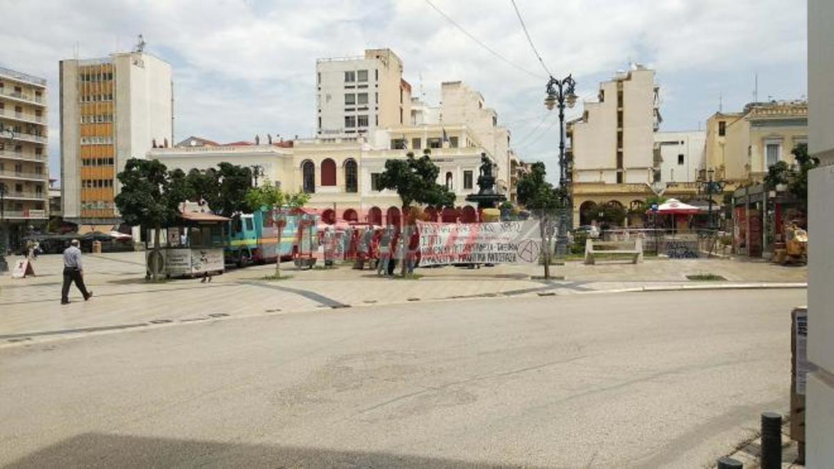 Πλειστηριασμοί: Πορεία αναρχικών στο κέντρο της Πάτρας [vid] | Newsit.gr
