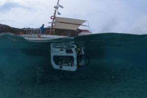 Νάξος: Αυτό είναι το υποβρύχιο τηλεκατευθυνόμενο όχημα που πήρε μέρος στις αρχαιολογικές έρευνες!