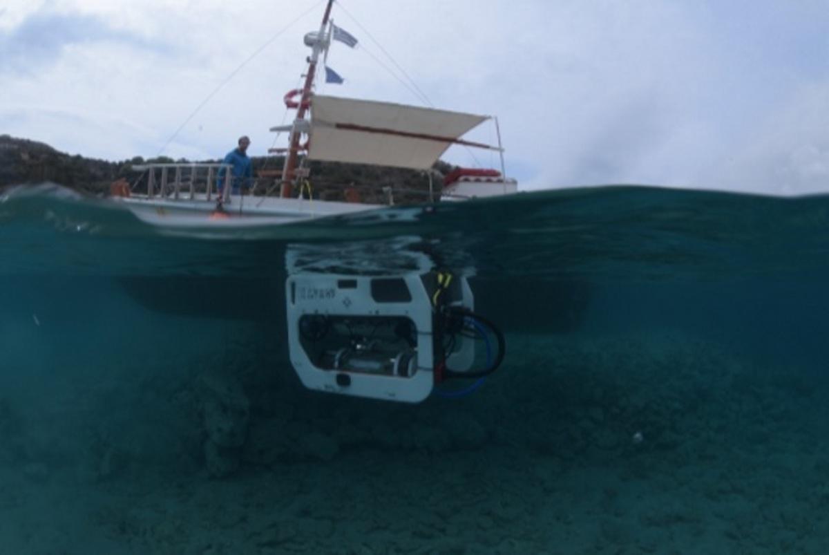 Νάξος: Αυτό είναι το υποβρύχιο τηλεκατευθυνόμενο όχημα που πήρε μέρος στις αρχαιολογικές έρευνες! | Newsit.gr