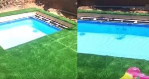 Έφτιαξε κρυφή πισίνα για να μη του φωνάζει η γυναίκα του ότι στέρησε χώρο από τα παιδιά