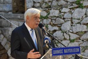 Παυλόπουλος: «Καμπανάκι» στα Σκόπια! «Η νίκη στο Σκρα γελοιοποίησε κάθε χονδροειδή προπαγάνδα»
