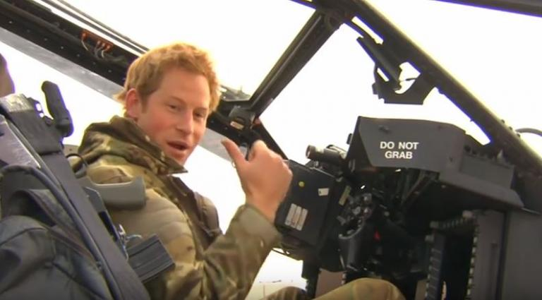 Ο πρίγκιπας Χάρι στον πόλεμο… για 2 ώρες! [vid] | Newsit.gr