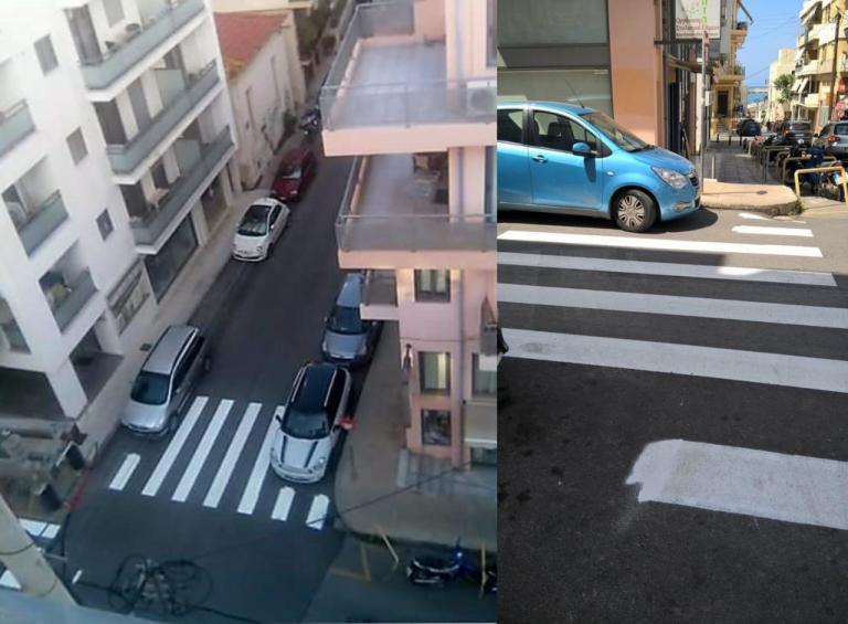 Απίστευτο! Κάτι πάει στραβά στην οδό Μαρούλη – Δείτε τη διαγράμμιση | Newsit.gr