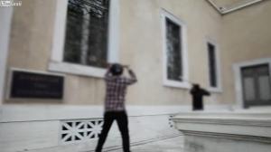 Ρουβίκωνας: Το video από την επίθεση στο ΣτΕ