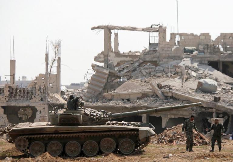 Συρία: Ο στρατός απομάκρυνε τους τζιχαντιστές του Ισλαμικού Κράτους από τη Δαμασκό | Newsit.gr