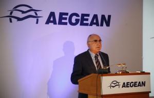 """Θρήνος στην """"οικογένεια"""" της Aegean – Πέθανε ο πρόεδρος Θεόδωρος Βασιλάκης"""