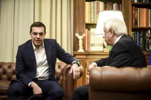 Σκοπιανό: Αύριο στις 9.30 το πρωί ο πρωθυπουργός ενημερώνει τον Πρόεδρο της Δημοκρατίας!