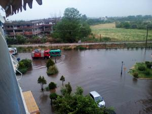 «Λίμνη» και η Ξάνθη – Η κακοκαιρία «βούλιαξε» την πόλη [pics]