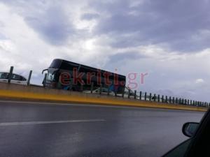 Κρήτη: Καραμπόλα 7 αυτοκινήτων στον ΒΟΑΚ – Κυκλοφοριακό χάος στο σημείο [pics]
