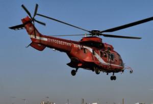 Αεροδιακομιδή 40χρονου στη Θεσσαλονίκη