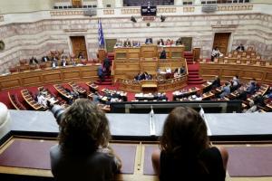 Η συζήτηση στην Βουλή για την πρόταση δυσπιστίας κατά της κυβέρνησης