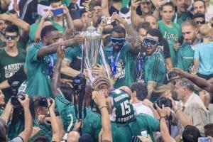 Παναθηναϊκός – Ολυμπιακός 84-70 ΤΕΛΙΚΟ – Πρωταθλητές Ελλάδας οι «πράσινοι»!