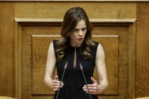 Αχτσιόγλου: Τα σχέδια Μητσοτάκη θα παραμείνουν «ασεβείς πόθοι»