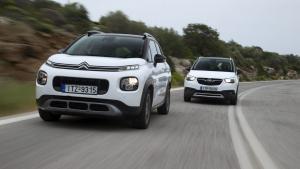 Νέο Citroën C3 Aircross vs Opel Crossland X: Οι Γάλλοι δείχνουν το δρόμο στα μικρά SUV [pics]
