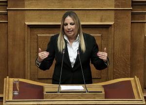 """Φώφη Γεννηματά: """"Δεν εμπιστευόμαστε αυτή την κυβέρνηση για τίποτα"""""""