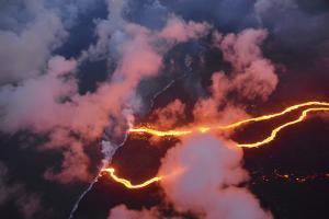 Χαβάη: Περίπου 600 σπίτια έχει καταστρέψει η ηφαιστειακή λάβα [pics, vids]