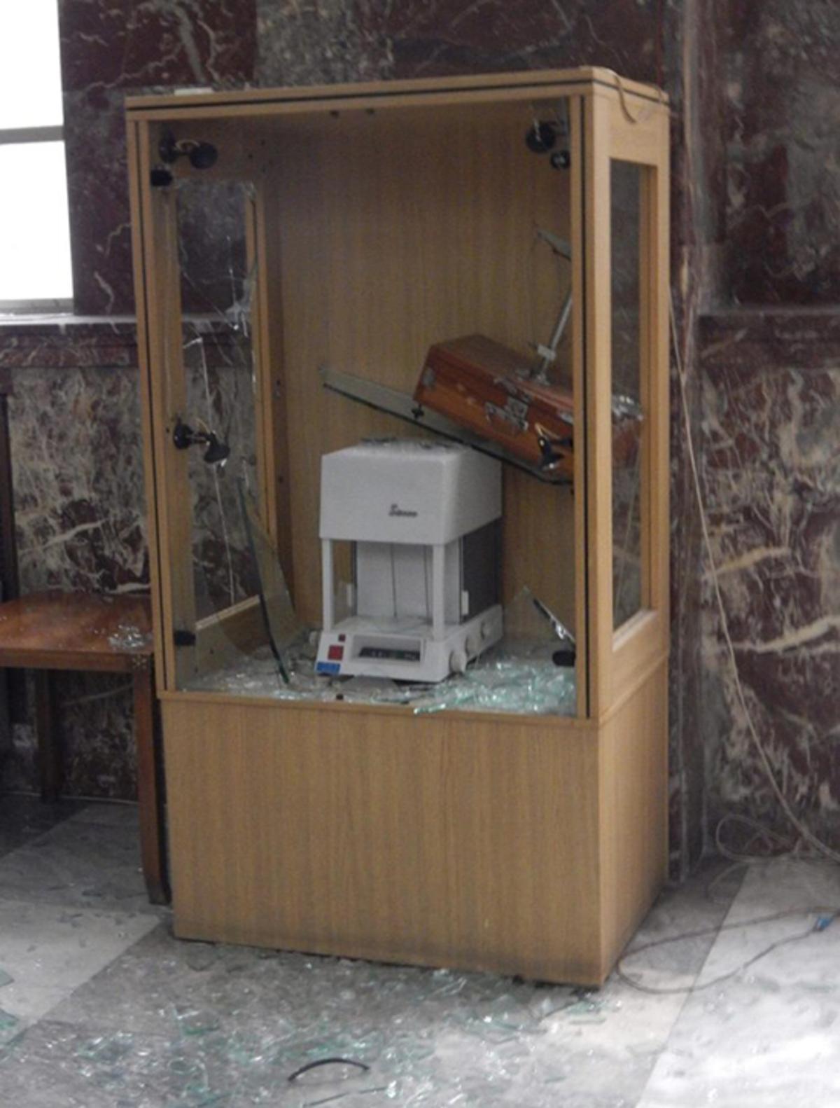 Νέα ΕΠΙΘΕΣΗ του Ρουβίκωνα σε Υπουργείο! Αίτημά τους η χορήγηση ΑΔΕΙΑΣ στον Κουφοντίνα... (ΕΙΚΟΝΕΣ)