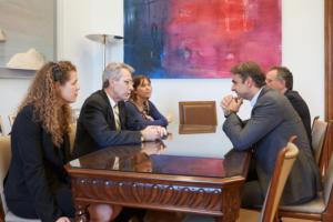 Συνάντηση του Κυριάκου Μητσοτάκη με Αμερικανούς για θέματα Τρομοκρατίας