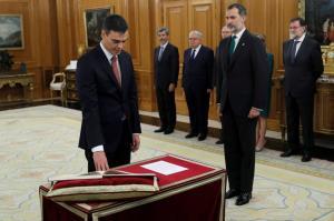 Πέδρο Σάντσεθ: Ορκίστηκε πρωθυπουργός της Ισπανίας