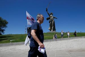 Mundial 2018: Άγγλοι διπλωμάτες και οπαδοί τίμησαν την μάχη του Στάλινγκραντ [pics]