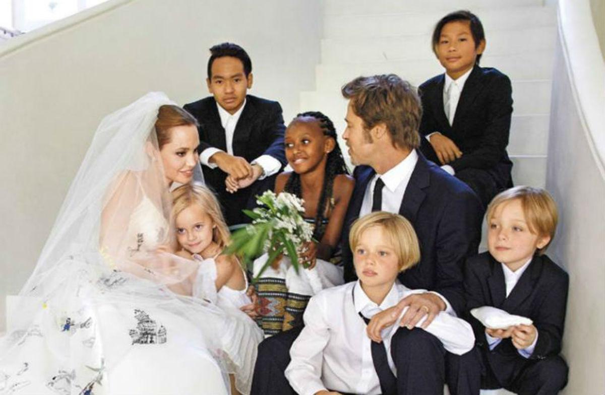 Angelina Jolie: Κίνδυνος να χάσει την επιμέλεια των παιδιών της από τον Brad Pitt | Newsit.gr