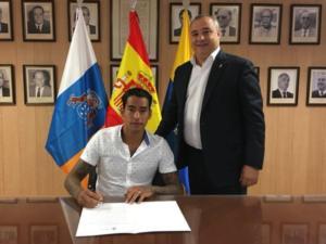 ΑΕΚ: Ανανέωσε ο Αραούχο στη Λας Πάλμας! Νέο 5ετές συμβόλαιο για τον Αργεντινό