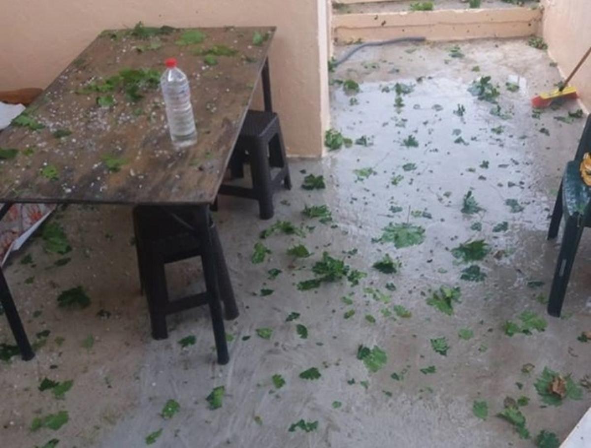 Καταστροφές από χαλάζι σε χωριά της Κρήτης [vid] | Newsit.gr