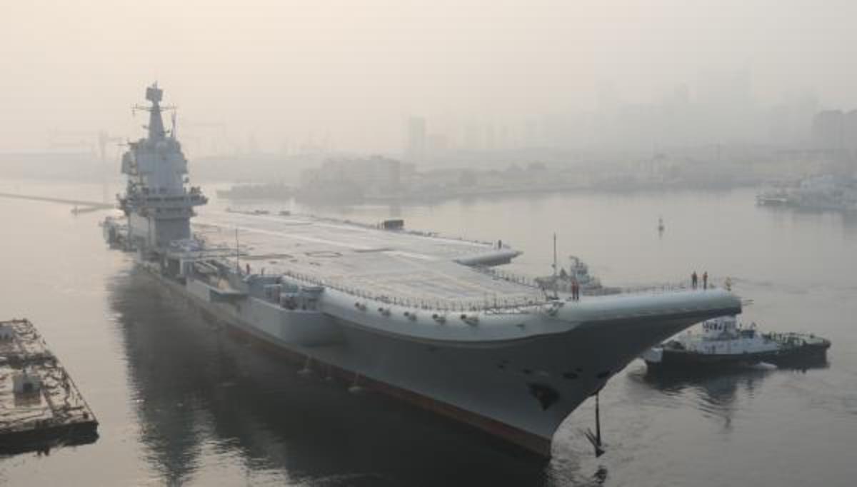 Υπό απειλή η Αμερικανική κυριαρχία στον Ειρηνικό! – Νέο αεροπλανοφόρο εντάσσεται στον Κινεζικό στόλο! [pic,vid] | Newsit.gr