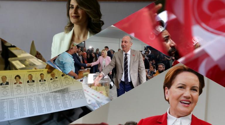 Εκλογές στην Τουρκία: Ψήφισαν οι αντίπαλοι του Ερντογάν – Χαμόγελα, selfie και καρφίτσες – σημαίες