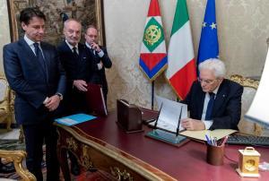 Ιταλία: Αυτή είναι η νέα κυβέρνηση υπό τον Τζουζέπε Κόντε – Όλα τα ονόματα