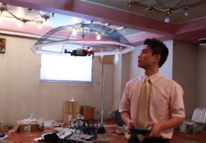 Ζεσταίνεστε; Οι Ιάπωνες έχουν την λύση! Την drone – ομπρέλα [vid]